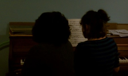 and Yvette doing a duo!