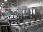 another angle of the bottling line