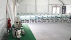 this is a shot of the potential catering tent