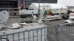 This is from the top of the international broadcast platform they built right next to my trailer, two stories high.