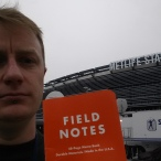 brought my indestructable Field Notes book to use for the duration