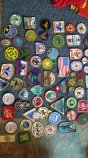 These are some of the patches from my father's BSA path colletion.